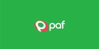 paf spordiennustuse logo
