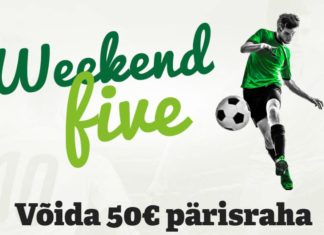 paf weekend five kampaania